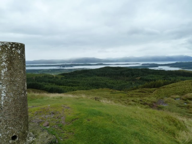 walking on beinn lora